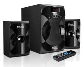 Speaker klip kes-380 40w multi/usb/sd/bivolt/2.1