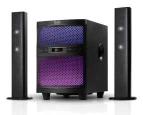 Tv sound bar klip ksb-250 160w surround 2.1/bt
