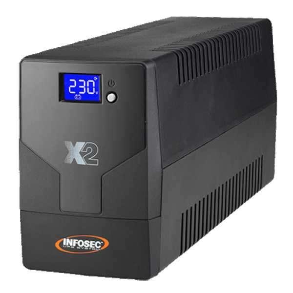 UPS INFOSEC 220V X2 700 TOUCH LCD NEMA HV - 0