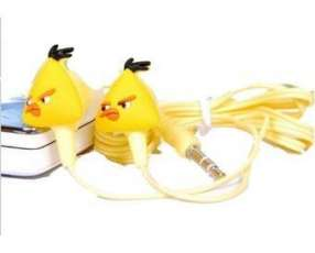 Mini mp3 player diseño angry bird amarillo