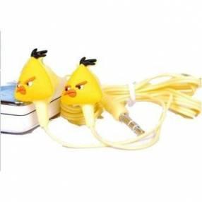 Mini mp3 player diseño angry bird amarillo
