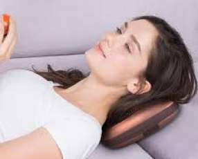 Almohada masajeadora con infrarrojo