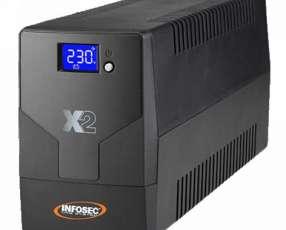 UPS INFOSEC 220V X2 1000 TOUCH LCD NEMA HV