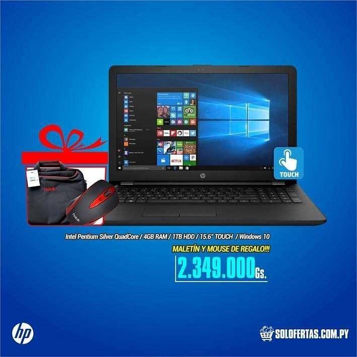 Notebook Hp Táctil 1 tb - 0