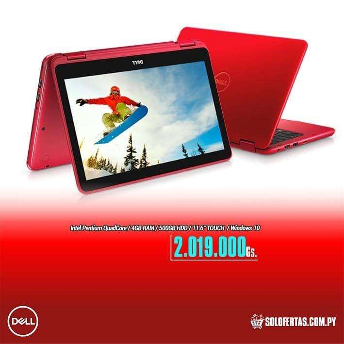 Netbook Dell convertible