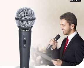 Micrófonos con cable