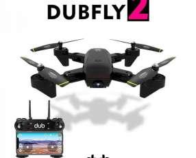 Drone con 2 cámaras de 1080 píxeles cada una.