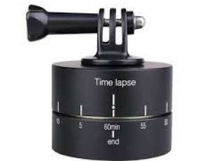 Base rotatoria para time-lapses con cámara digital