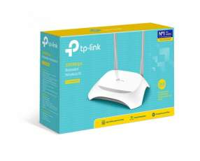 Wire router tp-link tl-wr849n 300 mbps 2.4 ghz