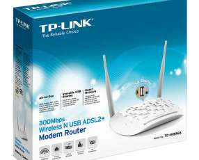 Wire router tp-link adsl td-w8968