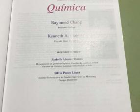 Libro de química CHANG original