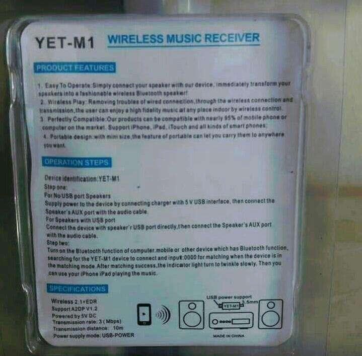 Bluetooth adaptador universal - 1