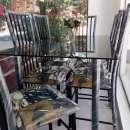 Juego de comedor elegance 6 sillas mesa de vidrio - 2