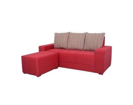 Sofa 3 lugares + puff koala - 0