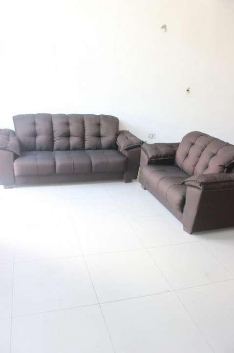 Sofa quebec 3 lugares 2 lugares l1 abba - 1