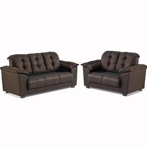 Sofa quebec 3 lugares 2 lugares l1 abba - 0