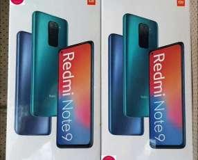Redmi Note 9 de 64 gb nuevos sellados