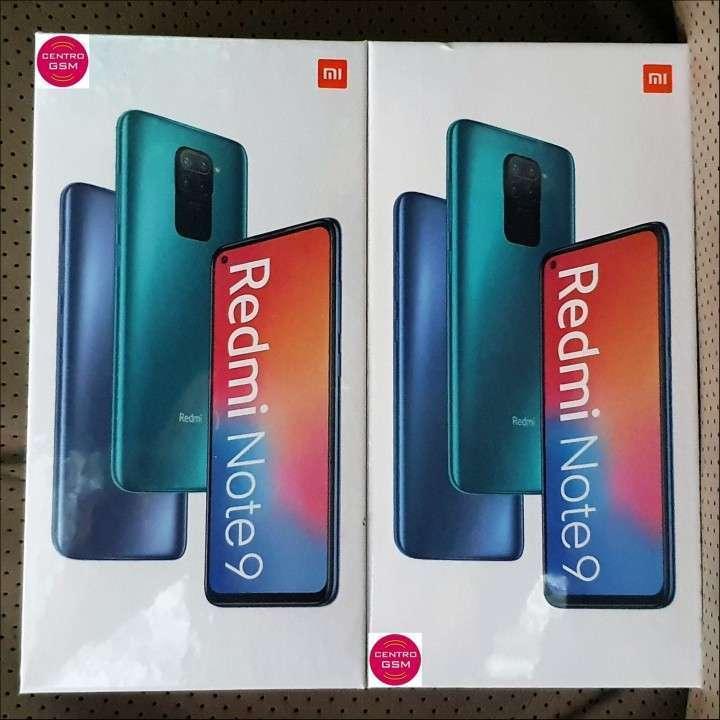 Redmi Note 9 de 64 gb nuevos sellados - 0
