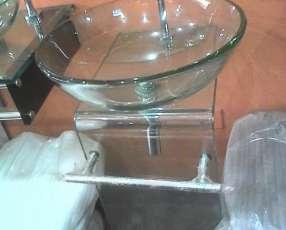 Mueble de vidrio
