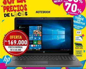 Notebook HP 15-DA0001LA