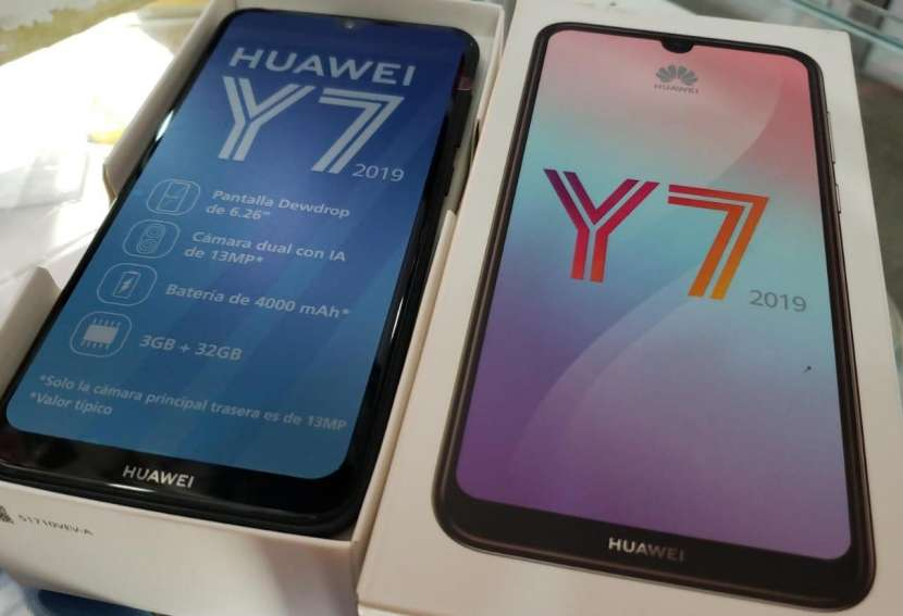 Huawei Y7 2019 nuevo en caja de 32 gb - 0