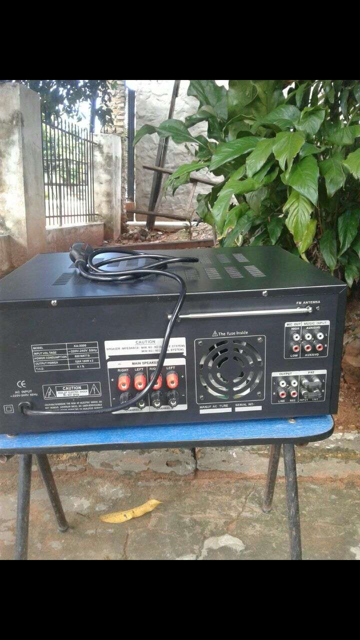 Amplificador de 6000W nuevo en caja - 2