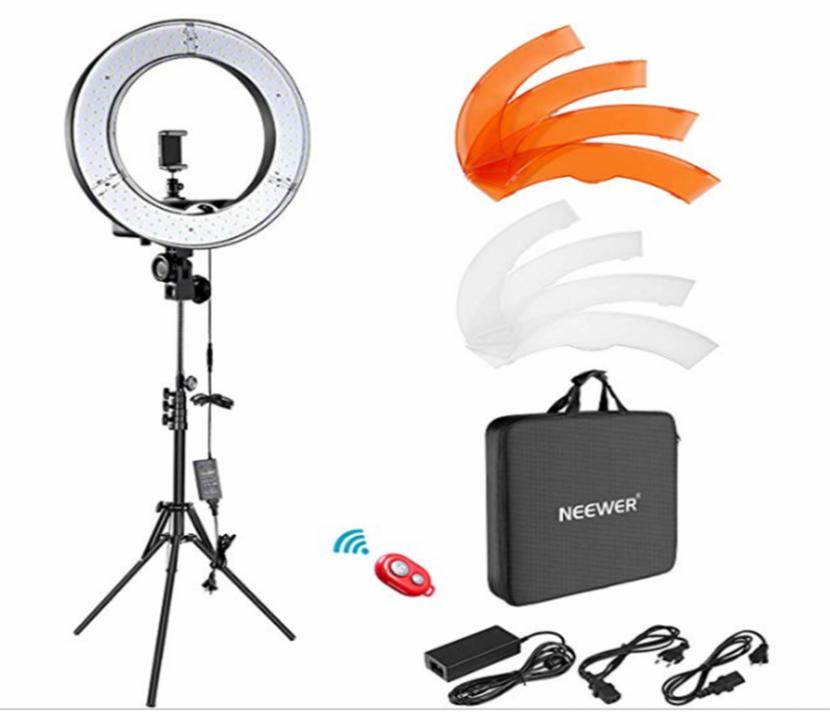 Neewer – Kit de – Anillo de luz LED Exterior - 0