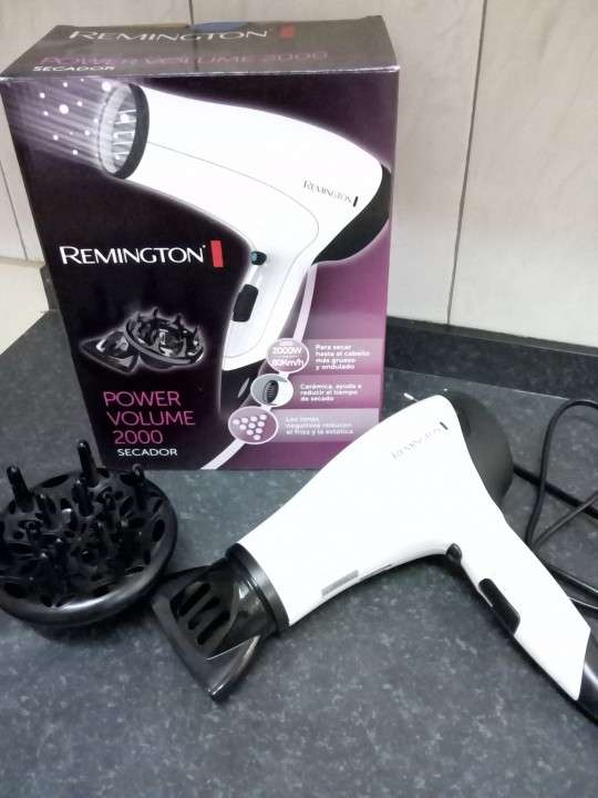 Secador de pelo power volume 2000 remington - 0