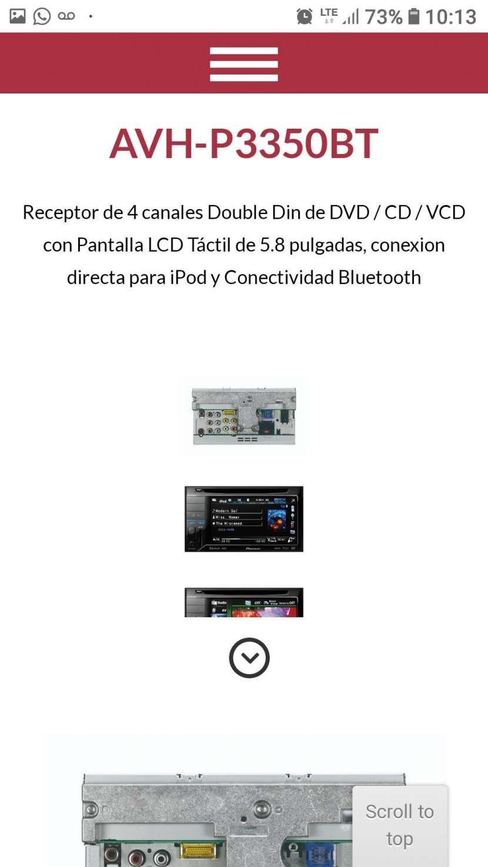 Autoradio Pioneer p3350bt - 0