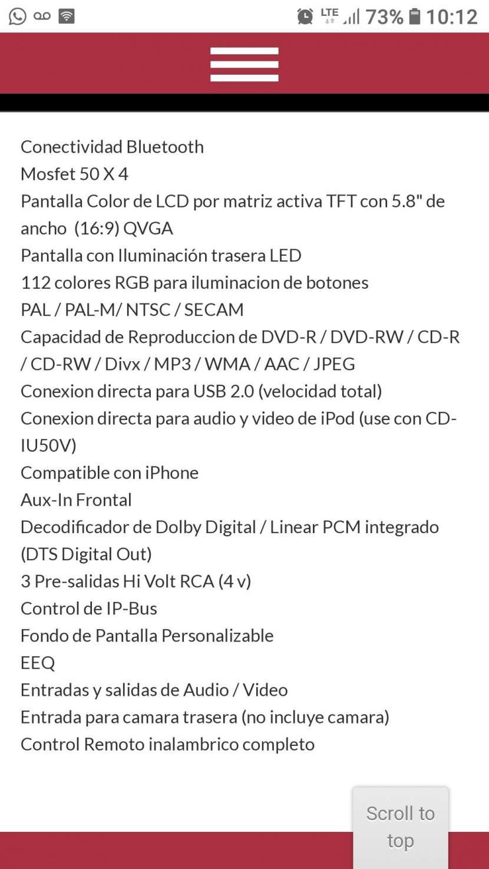 Autoradio Pioneer p3350bt - 1