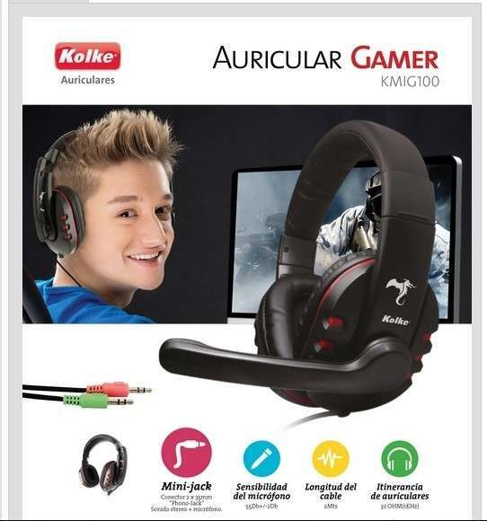 Auriculares Kolke Gaming KGA-145 - 0