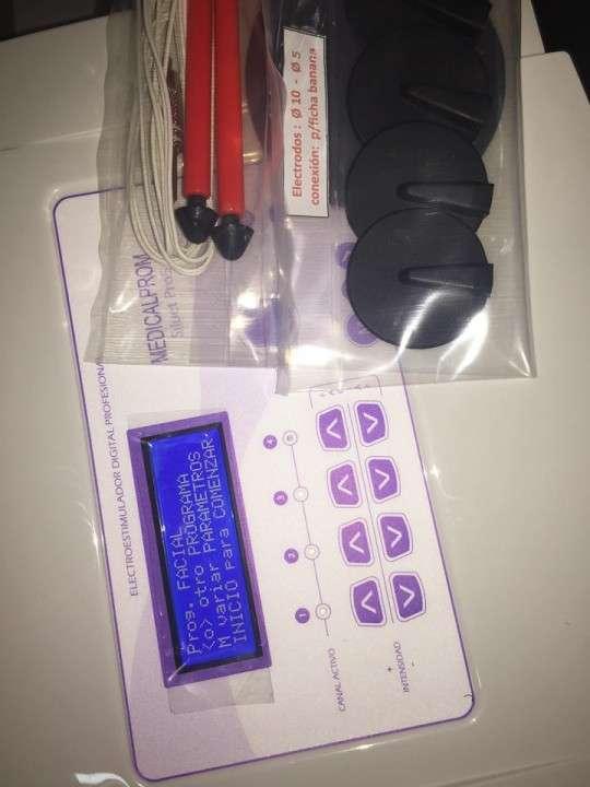 Electroestimulador de 5 canales corporal y facial - 4