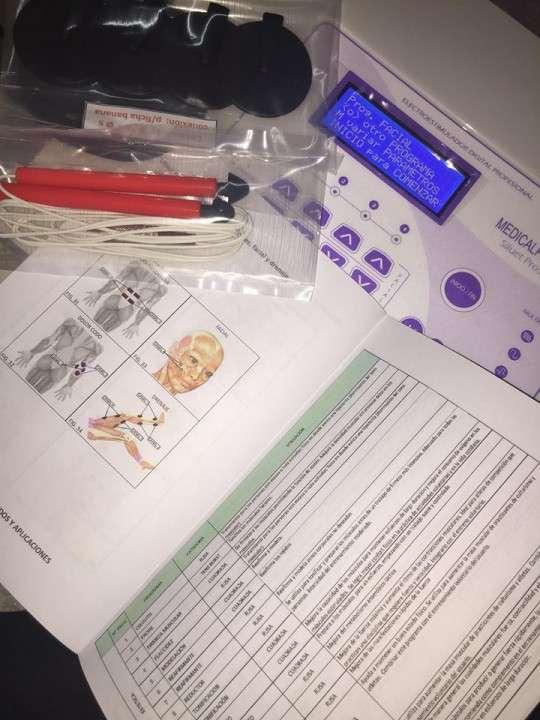 Electroestimulador de 5 canales corporal y facial - 2