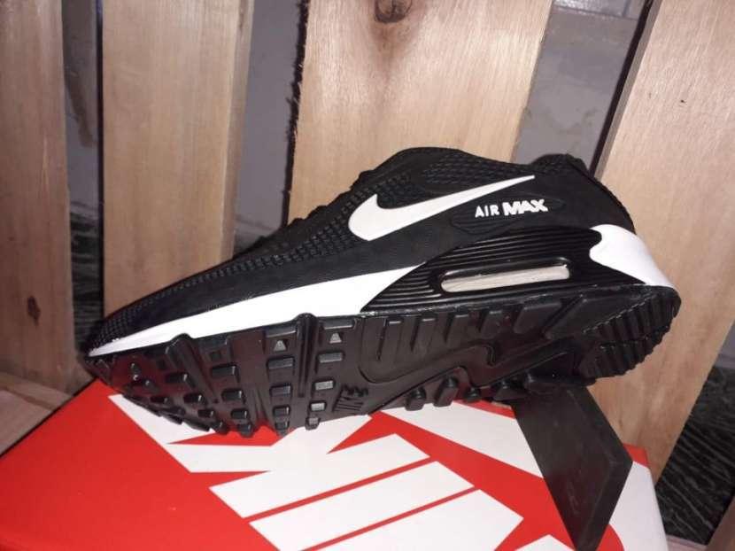 Calzados Nike Air Max 90 kpu Black White - 3