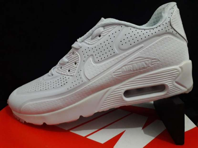 Calzados Nike Air Max 90 ultra triple white - 1