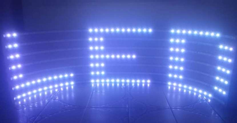 Pasa Texto LED color Flex - 2