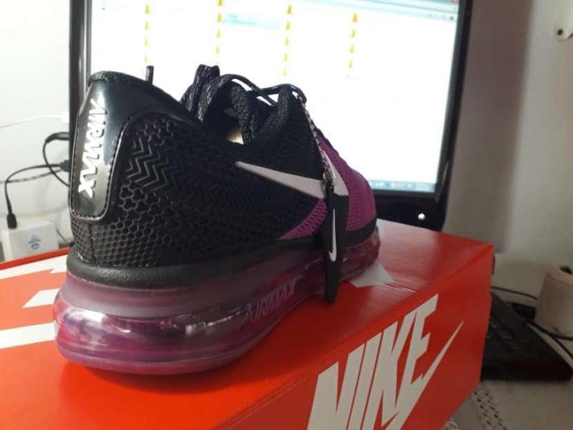 Calzados Nike Air Max 2017 Kpu Purple Black White - 2