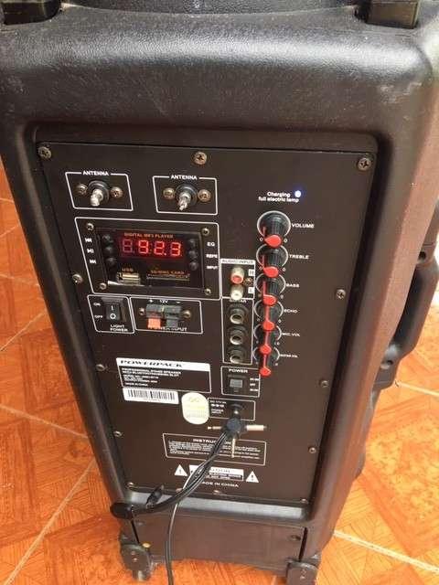Parlante portátil Powerpack misc-bt 115 - 2