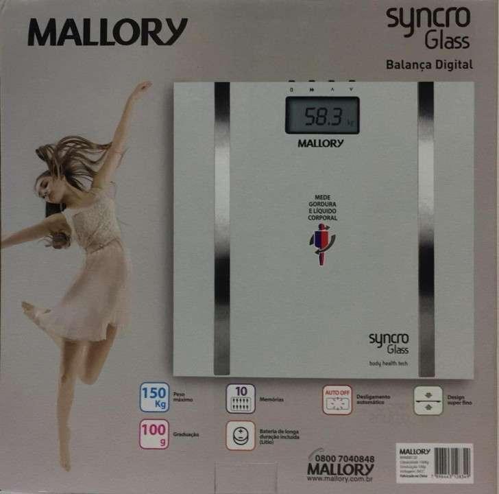 Balanza mallory dig syncro glass - 0