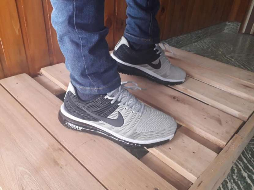Calzados Nike Air Max 2017 Kpu Black Grey - 1