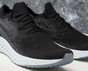 Calzados Nike epic React Flyknit black Grey