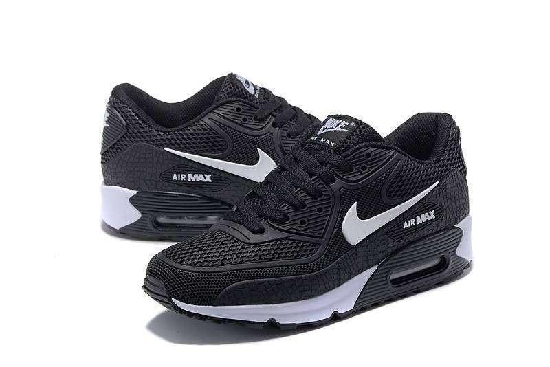 Calzados Nike Air Max 90 kpu Black White - 0
