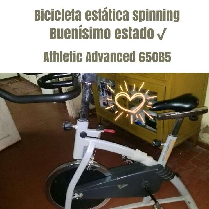 Bicicleta estática Athletic Advanced 650B5 - 0