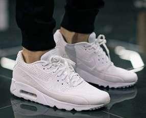 Calzados Nike Air Max 90 ultra triple white
