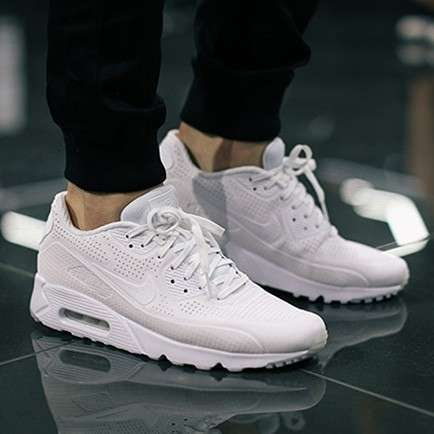 Calzados Nike Air Max 90 ultra triple white - 0