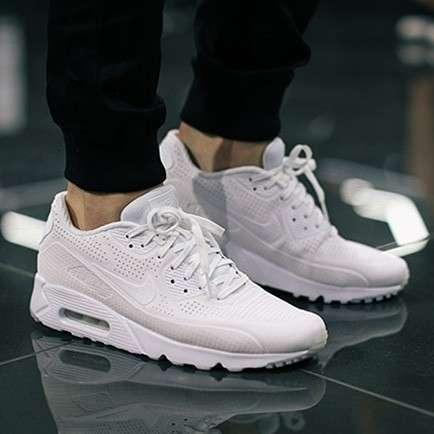 Calzados Nike Air Max 90 ultra triple white - 0