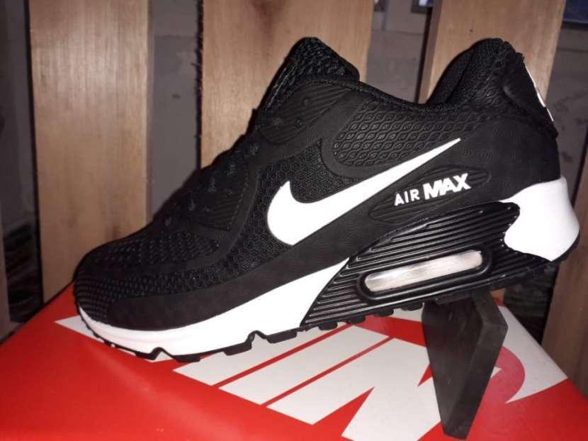 Calzados Nike Air Max 90 kpu Black White - 2