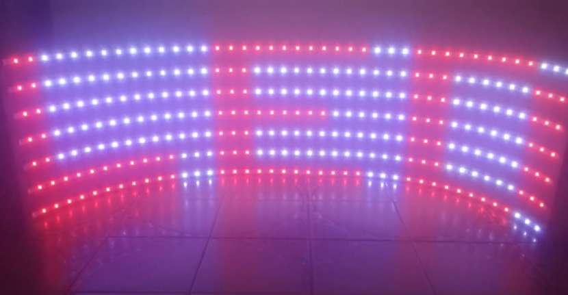 Pasa Texto LED color Flex - 3