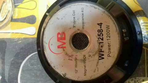 """Parlante Woffer mb 12"""" 1200 whats - 1"""