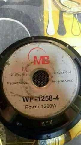 Woofer MB 12 pulgadas 1200 watts - 1